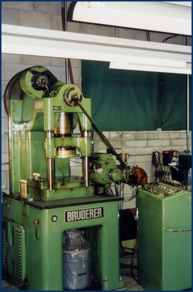 30 ton Bruderer Punch Press